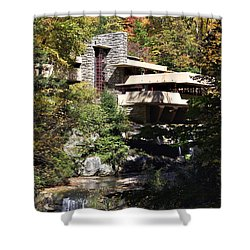 Fallingwater By Frank Lloyd Wright Shower Curtain