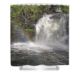 Falloch Rainbow Shower Curtain