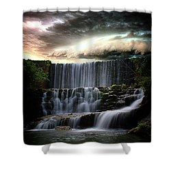 Falls At Mirror Lake Shower Curtain