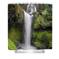 Falls Creek Falls In Washington  Shower Curtain