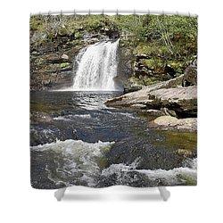 Falls Of Falloch Shower Curtain