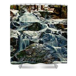Falls Of Fogg Brook Shower Curtain