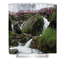 Falls Shower Curtain