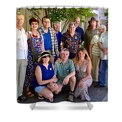 Family And Friends Reunion Shower Curtain