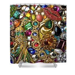 Family Jewels Shower Curtain