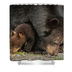 Family Of Four Shower Curtain
