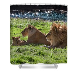 Family Pride Shower Curtain