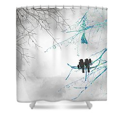 Family Togetherness Shower Curtain