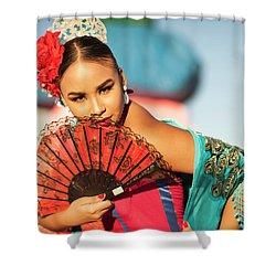 Fan Cathy Shower Curtain