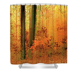 Shower Curtain featuring the photograph Fanciful Forest by Jessica Jenney