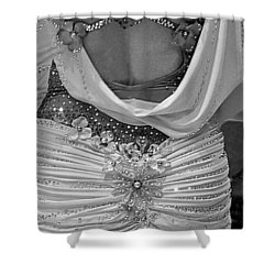 Fancy Pants Shower Curtain by Lori Seaman