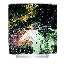 Fanfare Shower Curtain by Kendall Eutemey