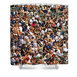 Fans Shower Curtain by Mitch Cat