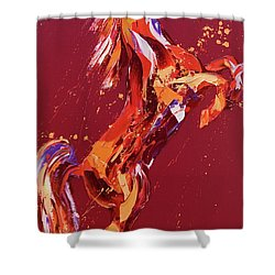 Fantasia Shower Curtain by Penny Warden