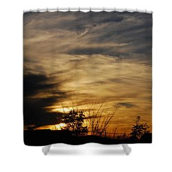Fantastic Sunet Shower Curtain