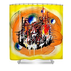Fantastico 101 Shower Curtain