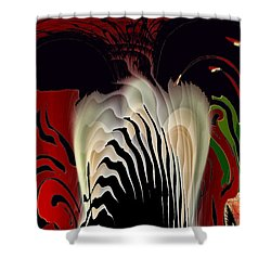 Fantasy Abstract Shower Curtain by Natalie Holland