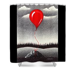 Fantasy And Reality Shower Curtain