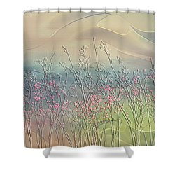 Fantasy Fields Shower Curtain