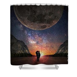 Fantasy Hike Shower Curtain