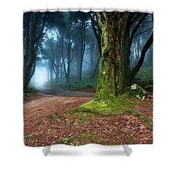 Shower Curtain featuring the photograph Fantasy by Jorge Maia