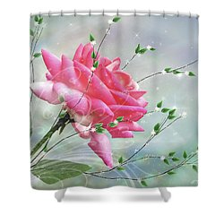 Fantasy Rose Shower Curtain