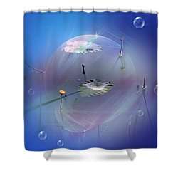 Fantasy Shower Curtain by Vesna Martinjak
