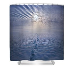 Shower Curtain featuring the photograph Far And Away by Phil Koch