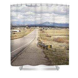 Far Horizon Shower Curtain