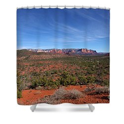 Far View Shower Curtain