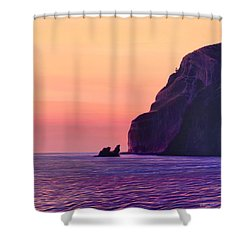 Farewell To Sorrento Shower Curtain