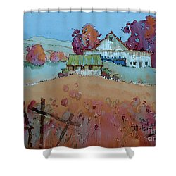 Farm Charm Shower Curtain