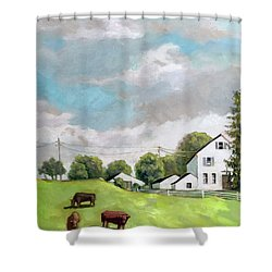 Farm Country Shower Curtain