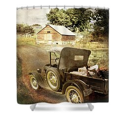 Farm Delivered Shower Curtain