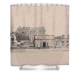 Farm Dwellings Shower Curtain