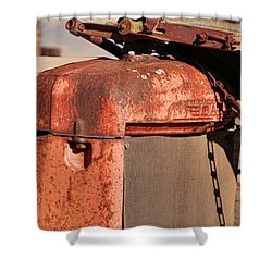 Shower Curtain featuring the photograph Farm Equipment 8 by Ely Arsha