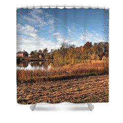 Farm Fall Colors Shower Curtain