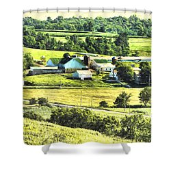 Farm Fresh Shower Curtain