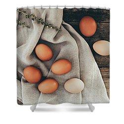 Shower Curtain featuring the photograph Farm Fresh by Kim Hojnacki