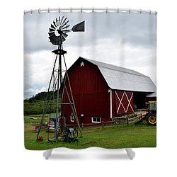 Farm In Traverse City Mi Shower Curtain