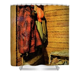 Farm Jackets Shower Curtain
