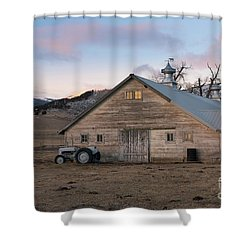 Farm Reflections Shower Curtain