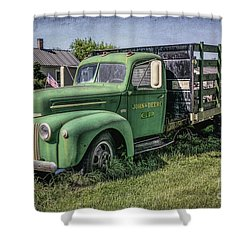 Farm Truck Shower Curtain