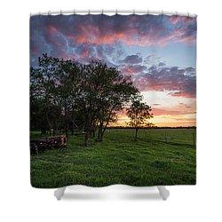 Farm View  Shower Curtain