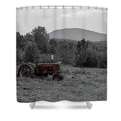 Farmall Tractor - Dedham Maine Shower Curtain