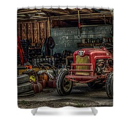 Farmall Tractor - Forever Florida Shower Curtain