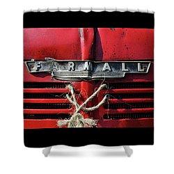 Farmall Tried And True Shower Curtain