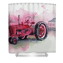 Farmall Shower Curtain