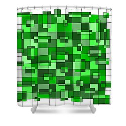 Farmer Green Shower Curtain