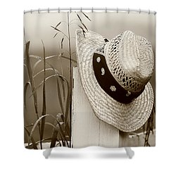 Farmers Hat Shower Curtain